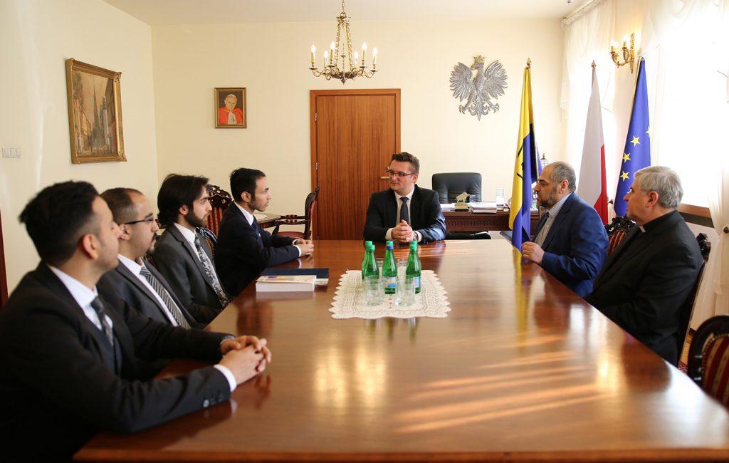 Spotkanie z prezydentem Katowic